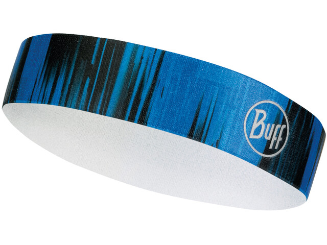 Buff Wide Hairband Reflective-Pulse Cape Blue